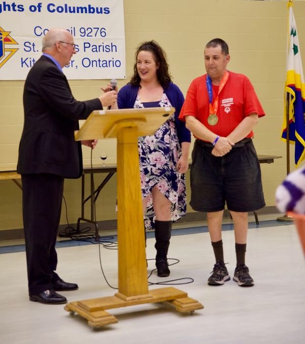 Special Olympics presentation - September 2018